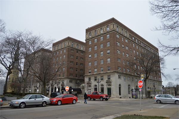 Astor Hotel present day. Photo credit: Wisconsin Historical Society