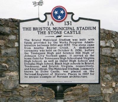 Historical marker, 2011