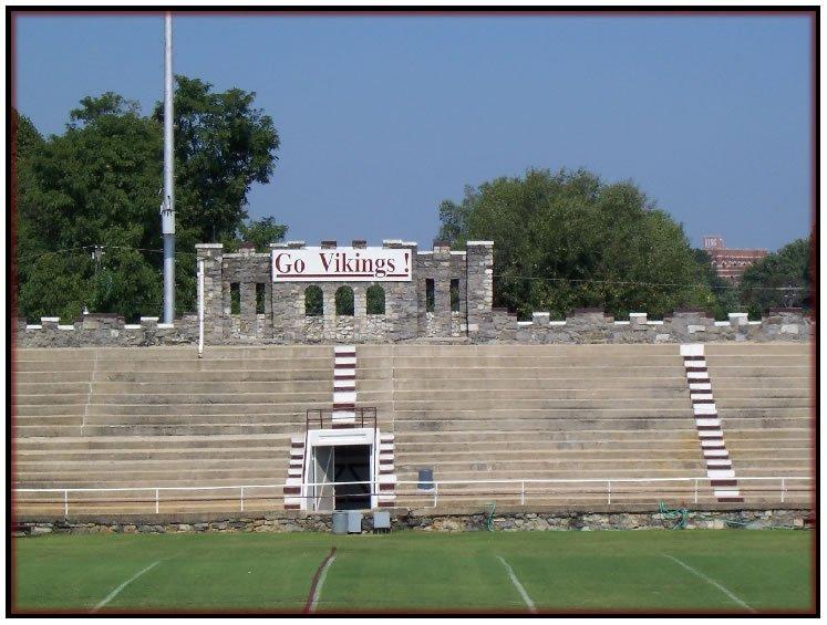 Inside stadium, 2010