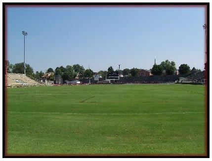 Field inside stadium, 2010