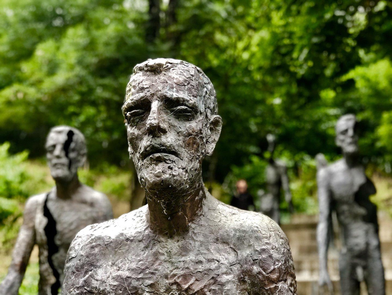 Bronze figure.