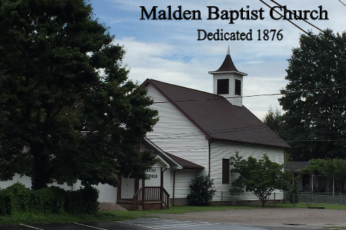 Malden Baptist Church today