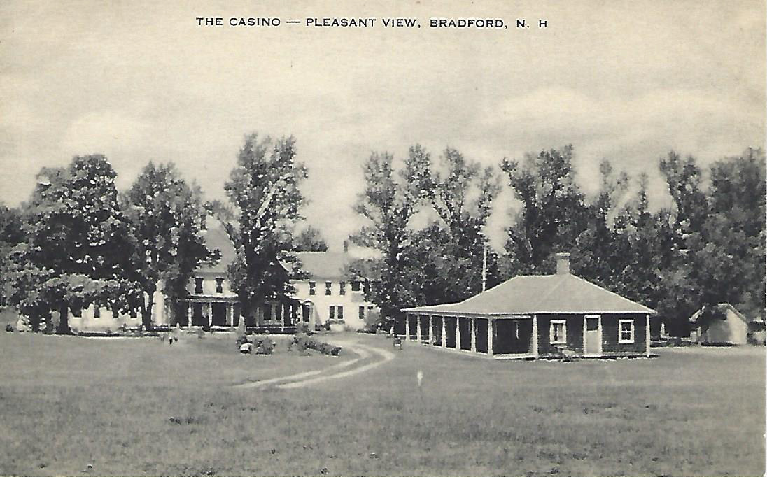 Another view from the Casino - postcard. This was located next to the golf course so guests could sit by the casino waiting for friends to finish their game.