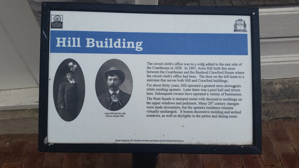 Hill Building Marker
