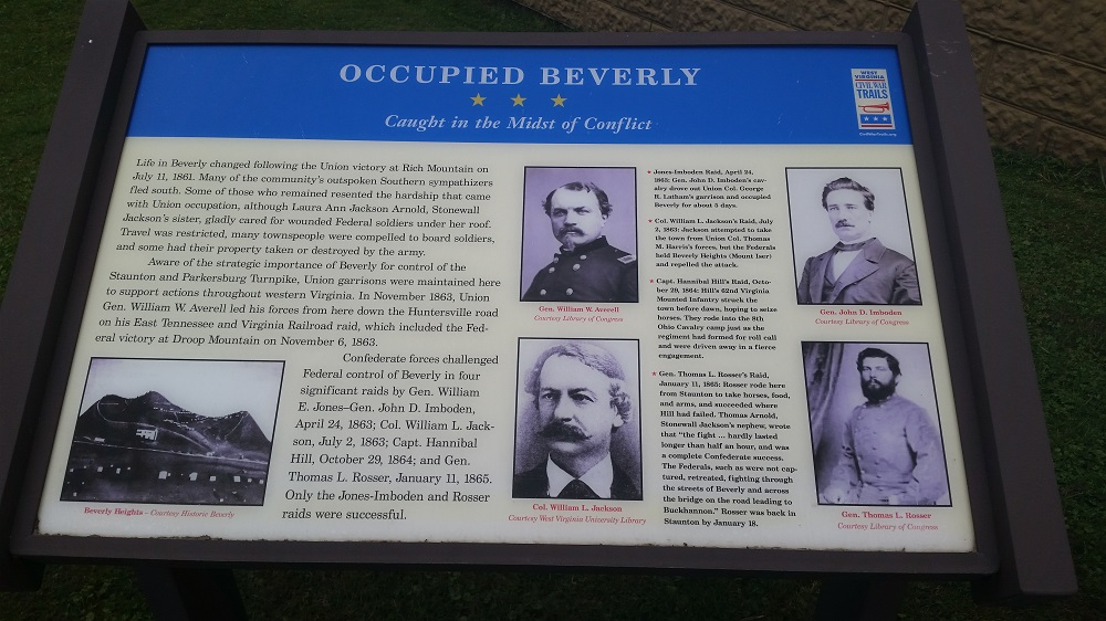 Occupied Beverly Marker