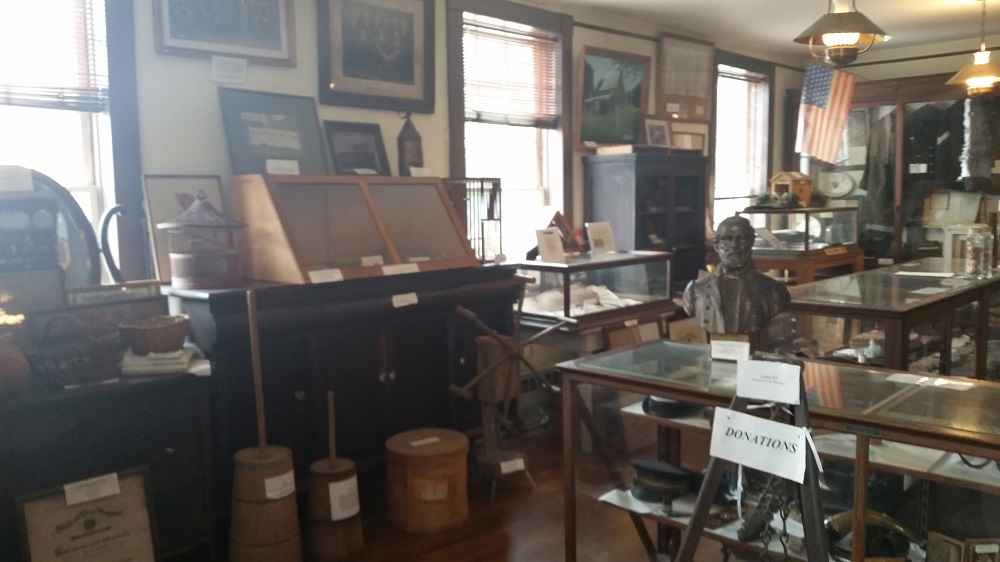 Inside the Balckman-Bosworth Museum