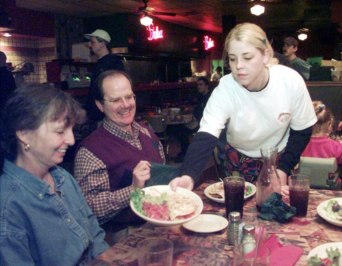 Inside Chili Willi's in 1999