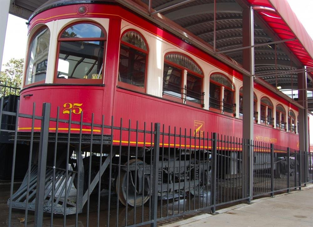 Car 25 was built in 1913 and operated until 1935.