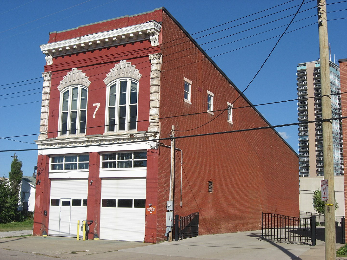 Steam Engine Company No. 7 in Old Louisville
