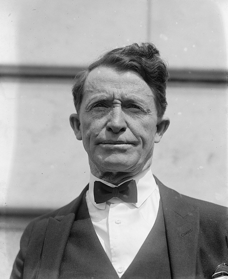 Al Jennings, who attended West Virginia University prior to his career as an Oklahoma outlaw, politician, and movie star. Courtesy of Wikipedia.
