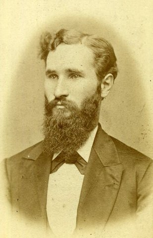 Daniel Boardman Purinton, WVU president and namesake of Purinton House. Courtesy of The West Virginia Encyclopedia.