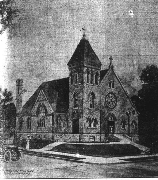 St. Paul's as it appeared in 1914, from The Daily Home News