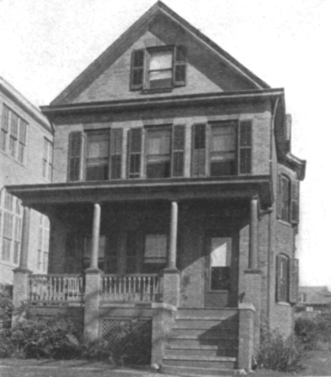 Original rectory in 1927