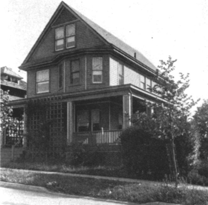 Original convent in 1927