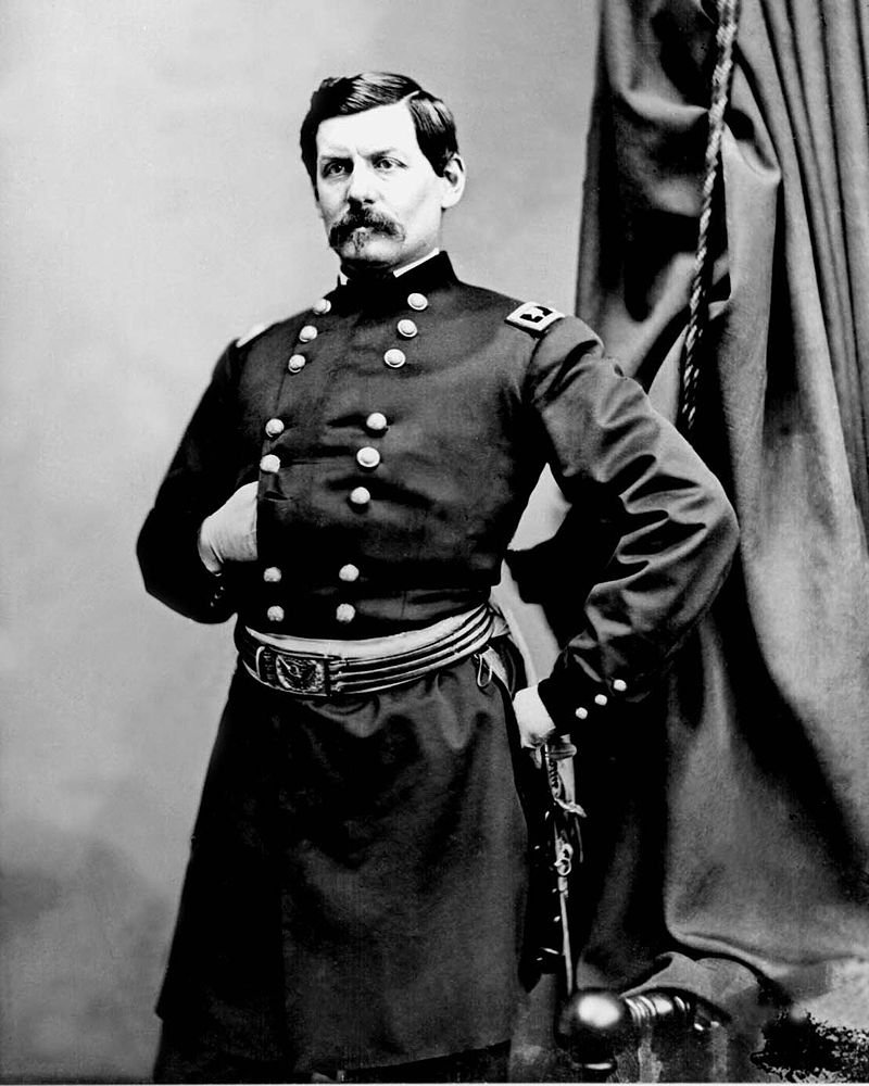Union General George B. McClellan, who occupied the Bushrod Crawford House after the 1861 Battle of Rich Mountain. Courtesy of Wikipedia.