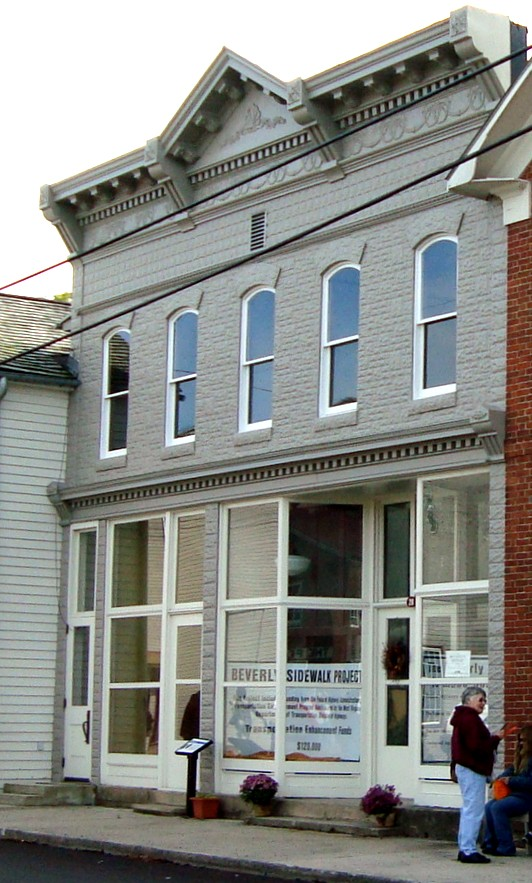 The Hill building, constructed in 1907. Courtesy of Historic Beverly Preservation, Inc.