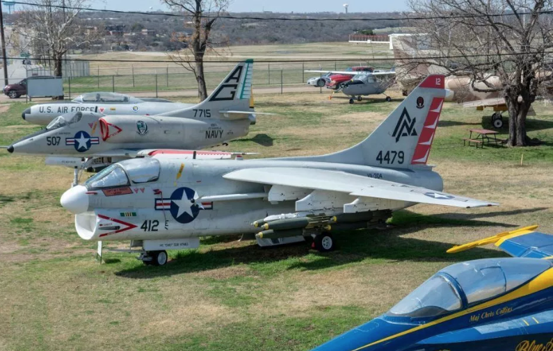 Featuring the Most Touchable Warbirds in Texas.