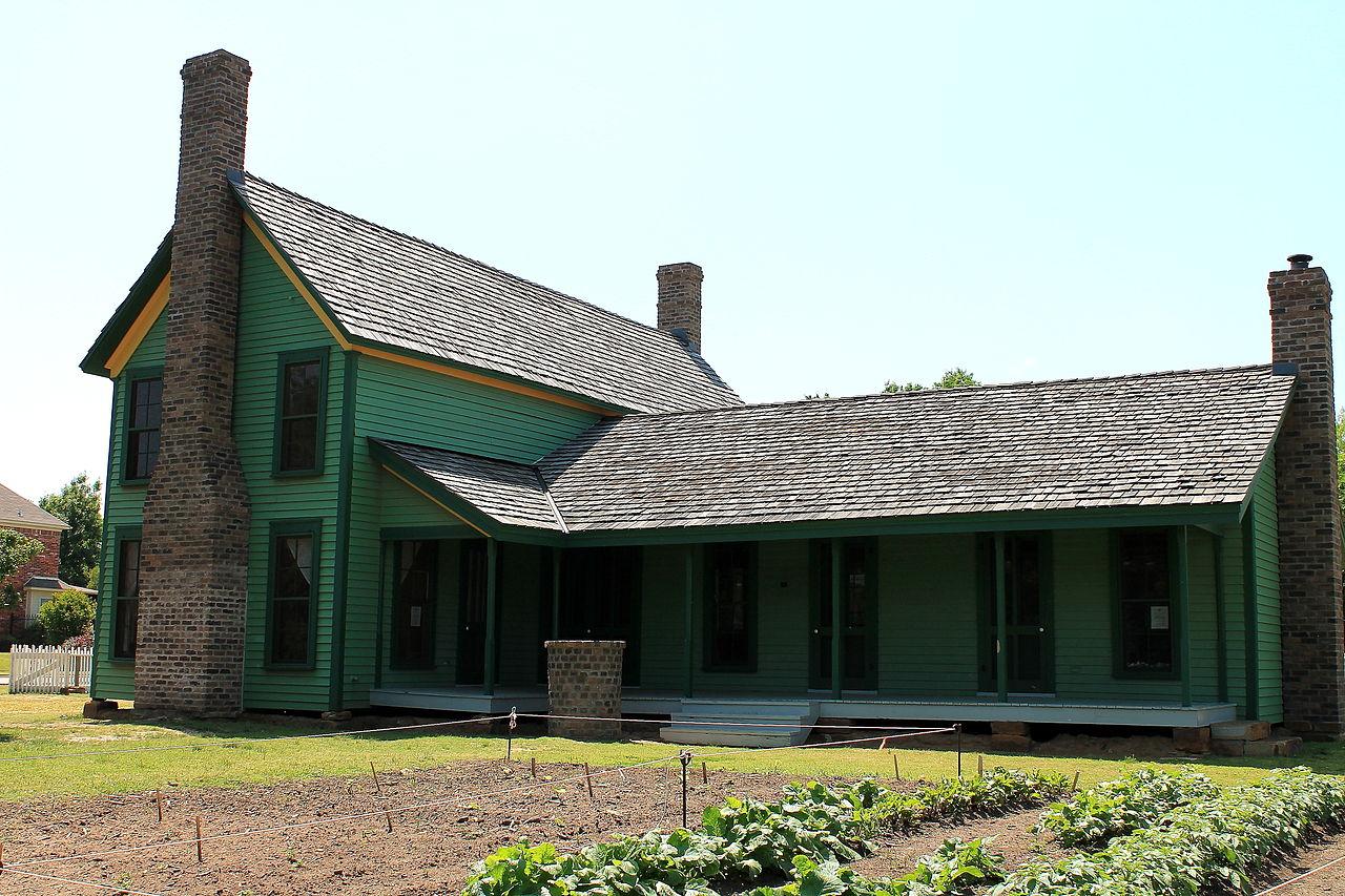 The farmhouse was built around 1869.