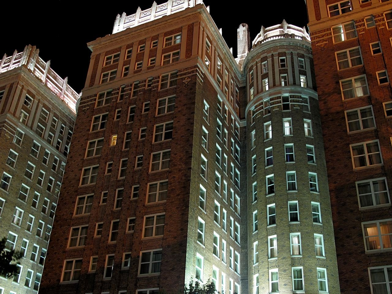 The Skirvin Hotel was originally built in 1911.