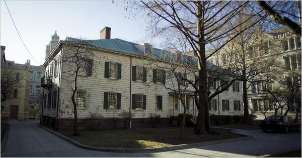The original Erasmus Hall Academy, built in 1786