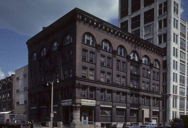 the building in 1983. Photo credit: Wisconsin Historical Society