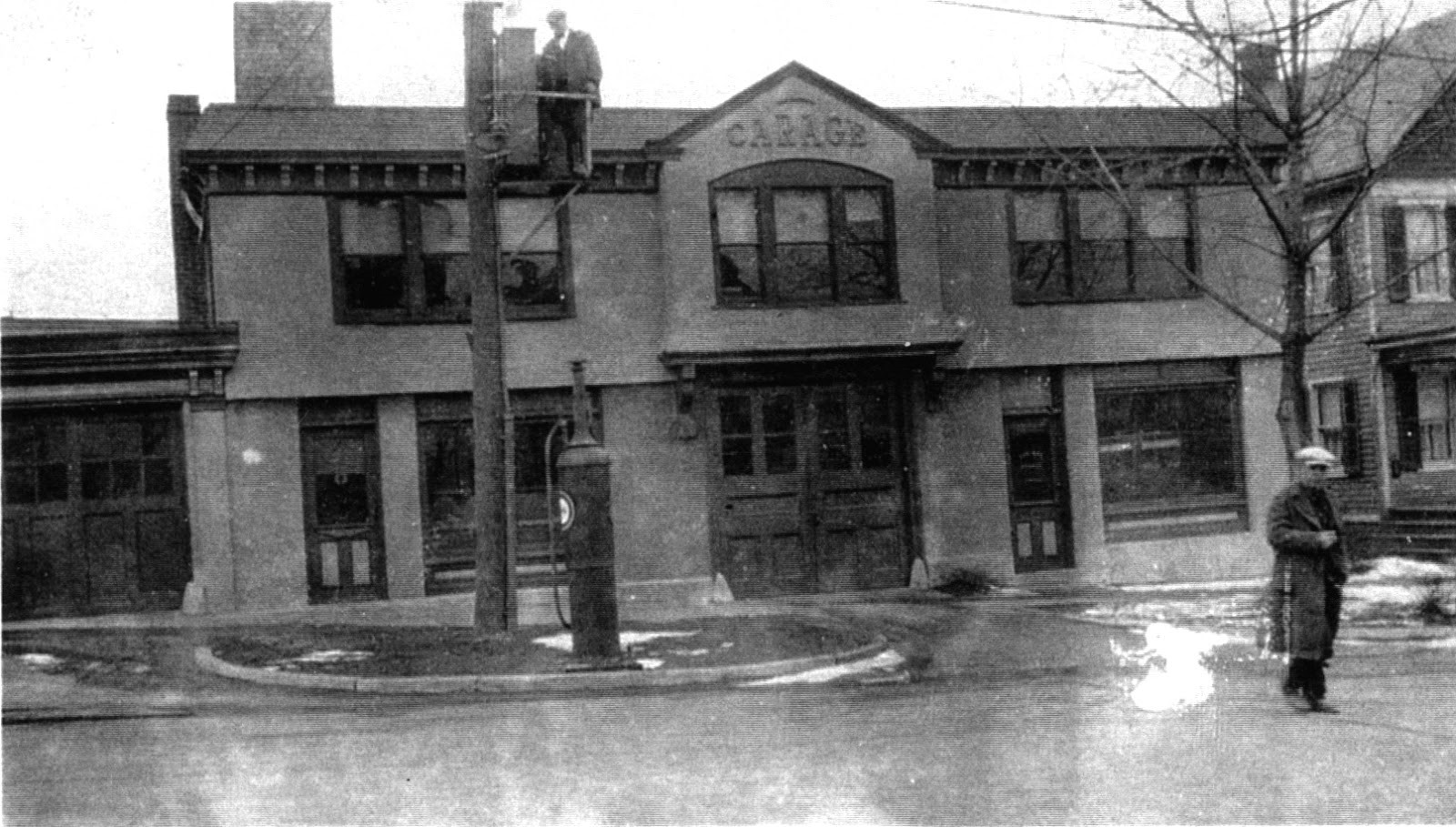 10 North 2nd in the early 20th century