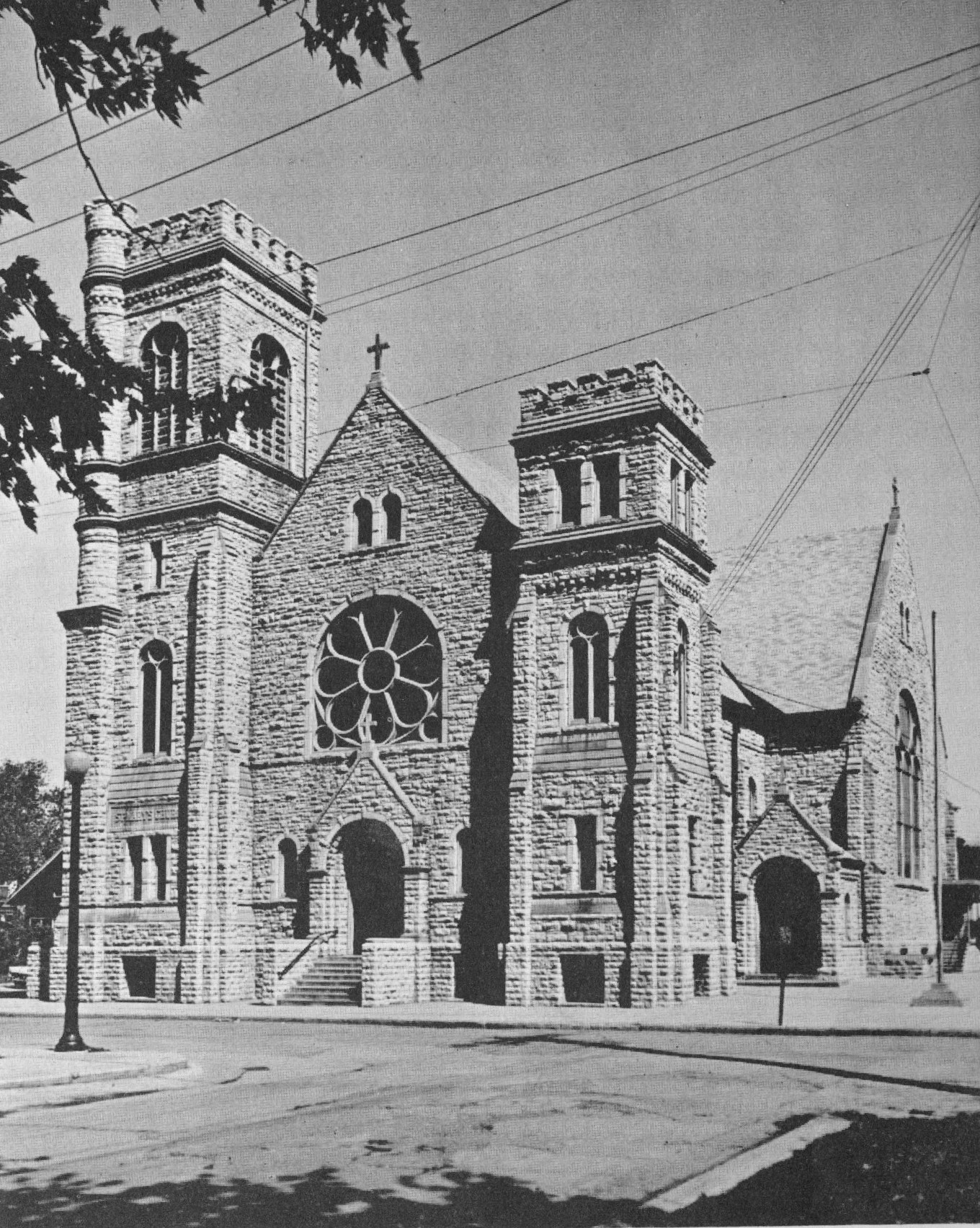 St. Mary's Church built in 1901.