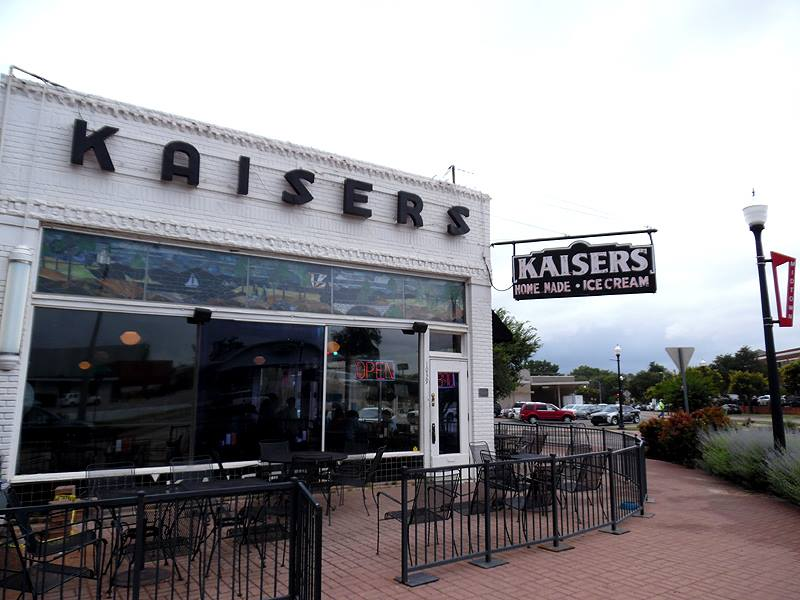 Kaiser's Grateful Bean Cafe was originally founded in 1910 as Kaiser's Ice Cream Parlour. It has been