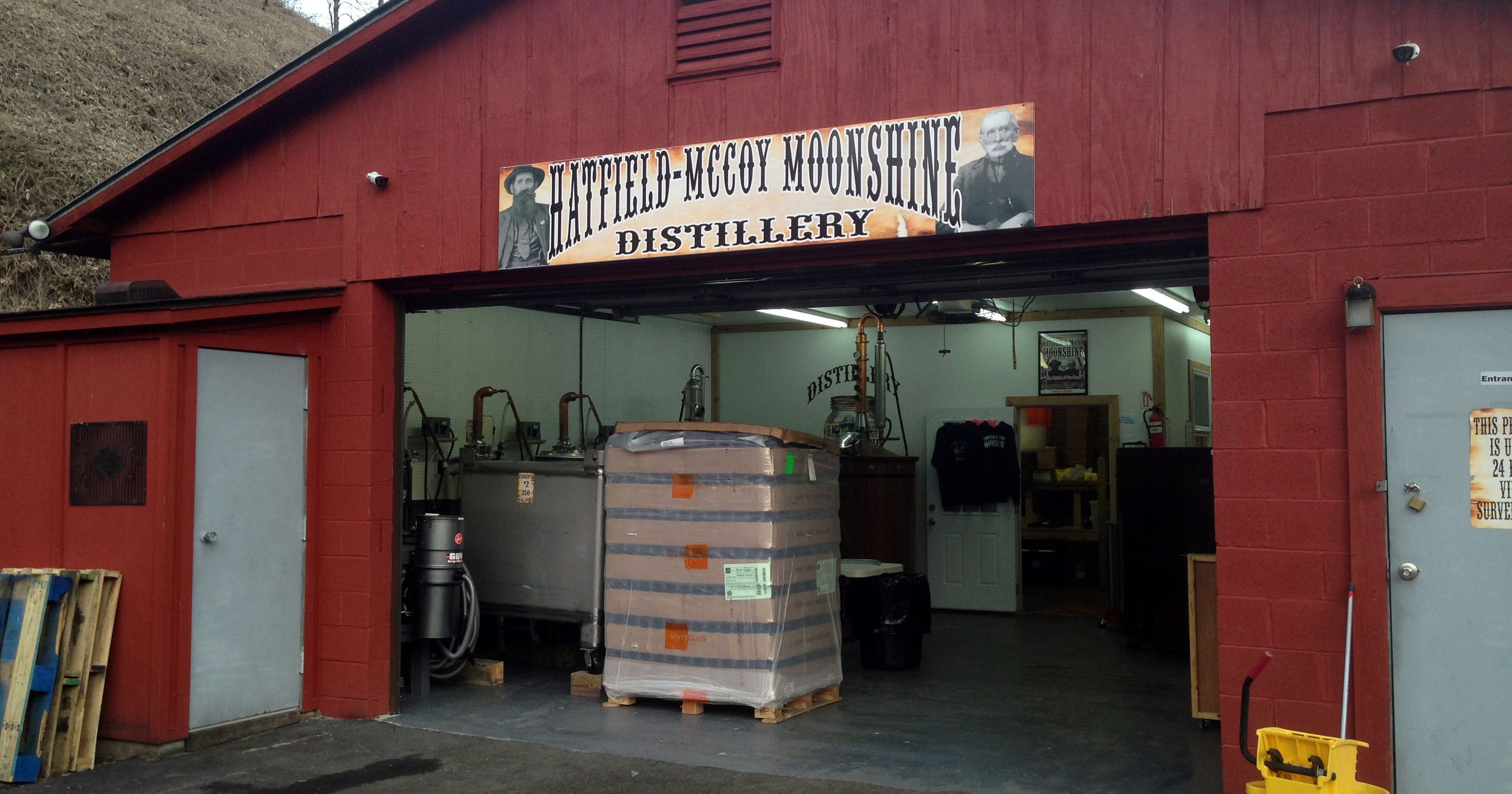The distillery was formed in 2015 by descendants of the Hatfields with the support of descendants of the McCoys.