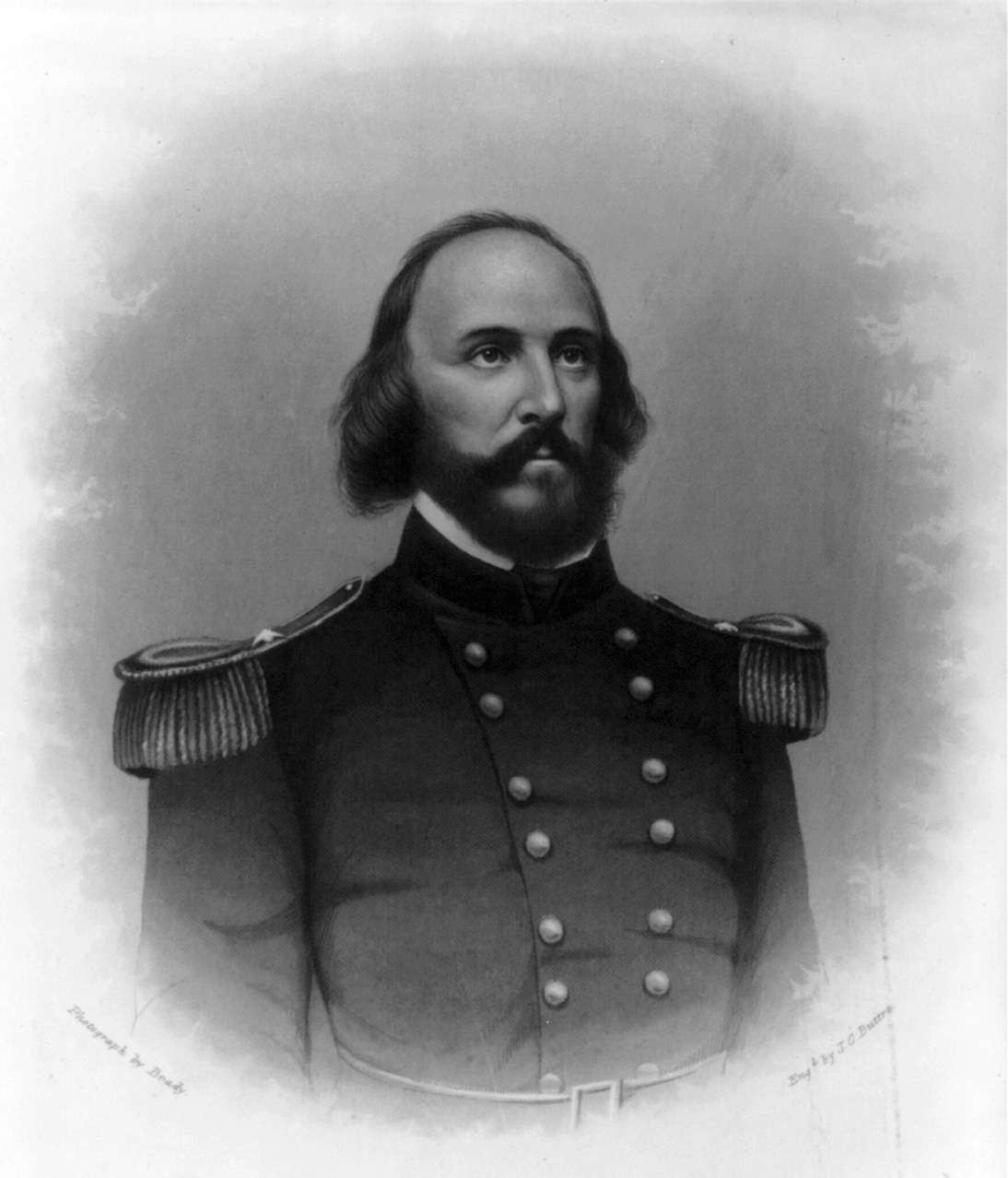 Undated image of Frederick Lander, who faced Stonewall Jackson in the Romney Expedition.