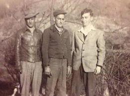 (L to R) Leo Bush, Darrell Bush, and Linwood Bush were well-known Gilmer County Horsemen.