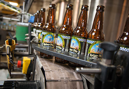 The Brewery's Bottling Line