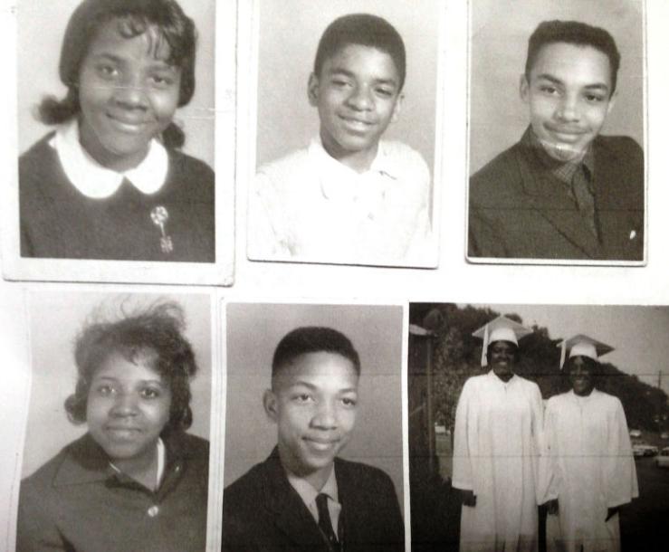 Douglass High yearbook photos