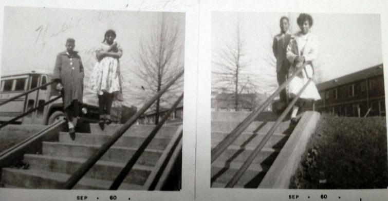 September 1960 Douglass High yearbook photos