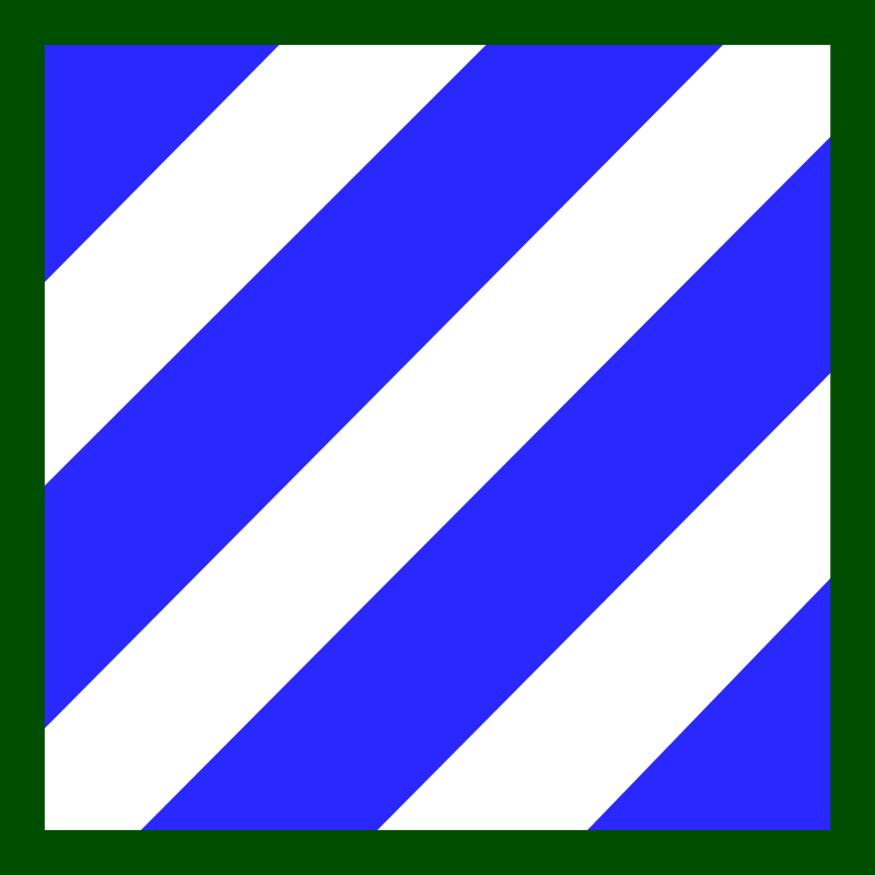 3rd Infantry Division Insignia