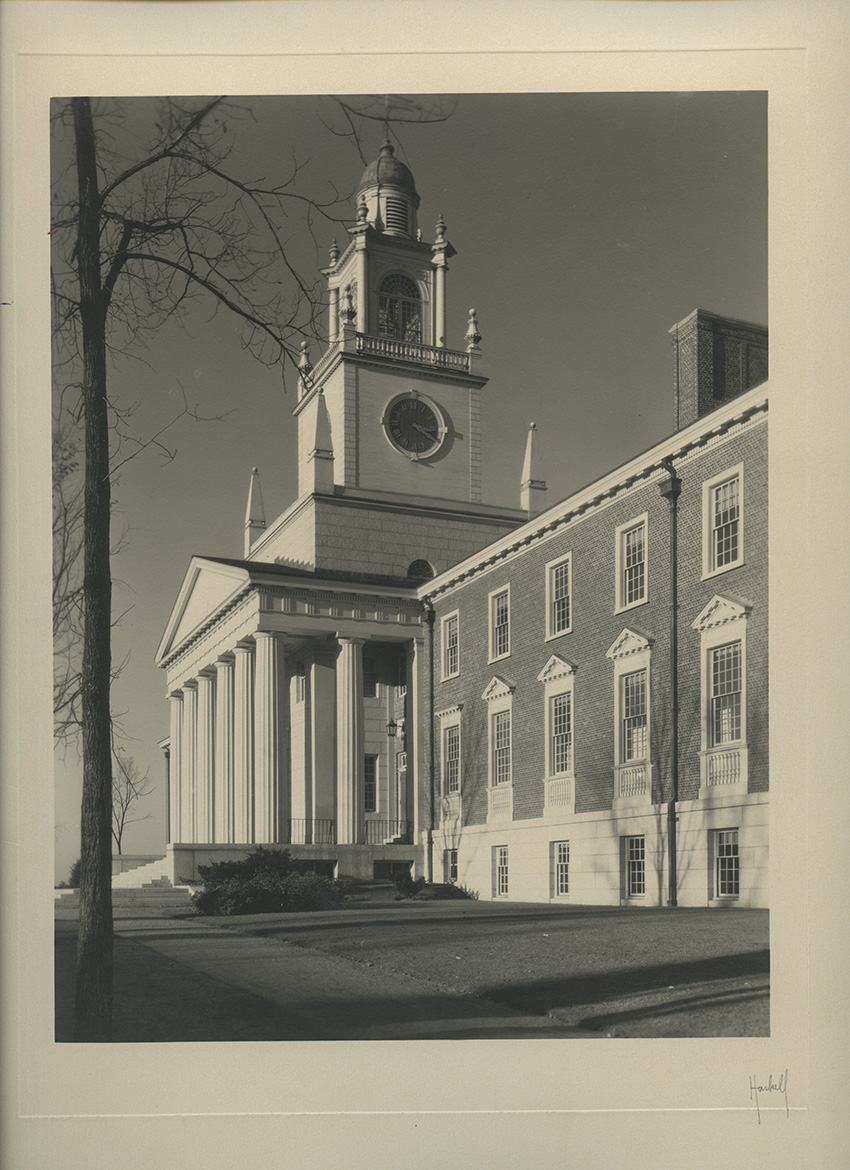 Samuel Phillips Hall Photograph by Arthur Haskell