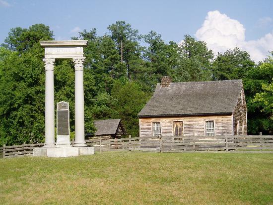 The Bennett's farm.