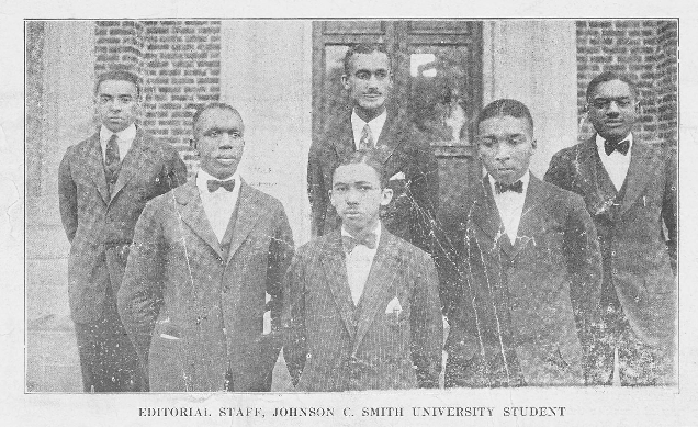 Above is the student news paper for the school when it was just starting out. the reason why there are no women picture is because before 1932 JSCU was an all male school