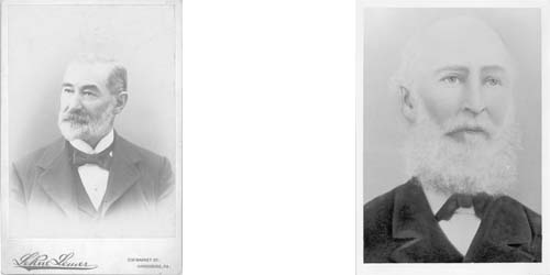 Above are the founders of the school SC Alexander and WL Miller both of whom where White presbytirian ministers and one of whom was a Confederate and former slave holder.