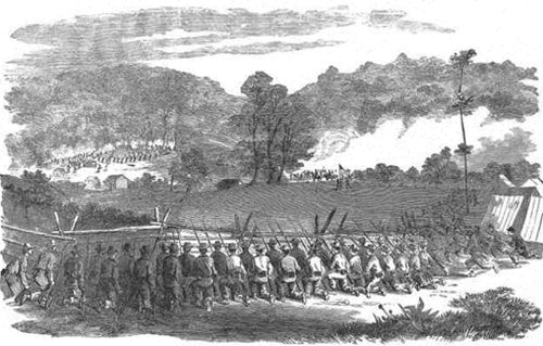 Battle illustration