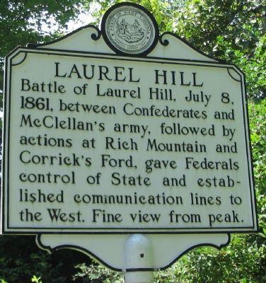 Laurel Hill Marker