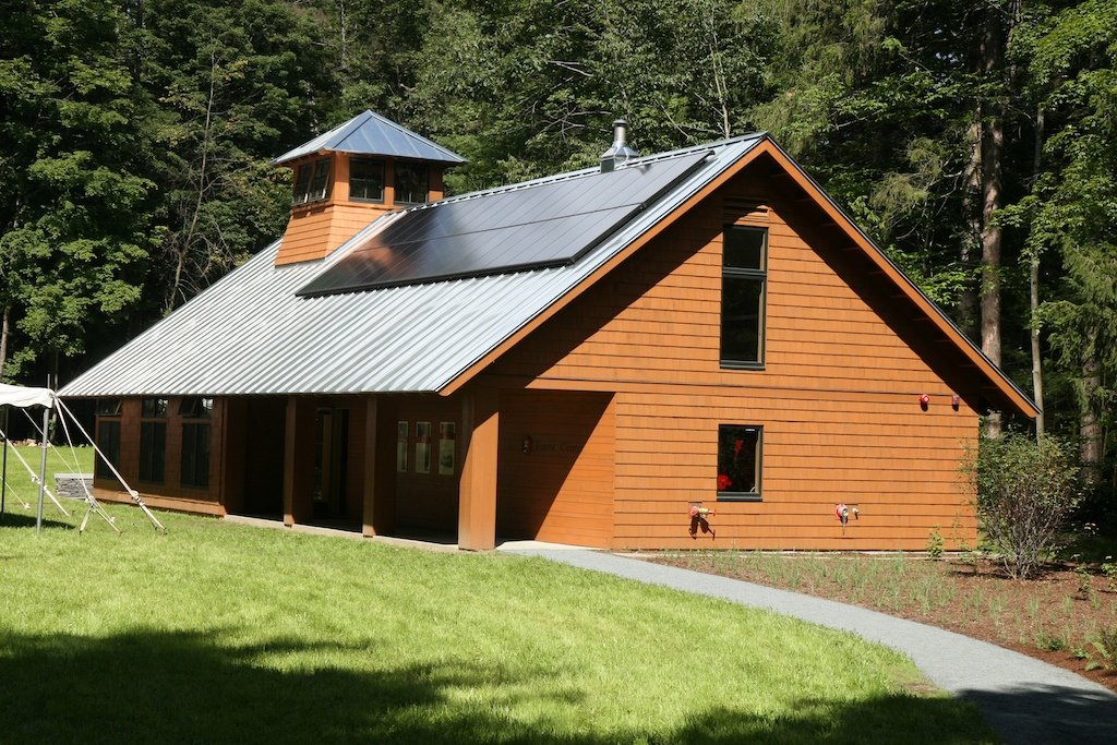 The park's forest center now occupies Billings' 1876 wood barn and offers a forest exhibit and educational opportunities.  It was restored in 2008.