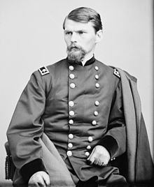 Union Brigadier General Emory Upton. During the battle he was a Colonel. Following his marginally successful charge, Upton was prompted to the rank of Brigadier General...while he was still on the field, leading and fighting for over a day