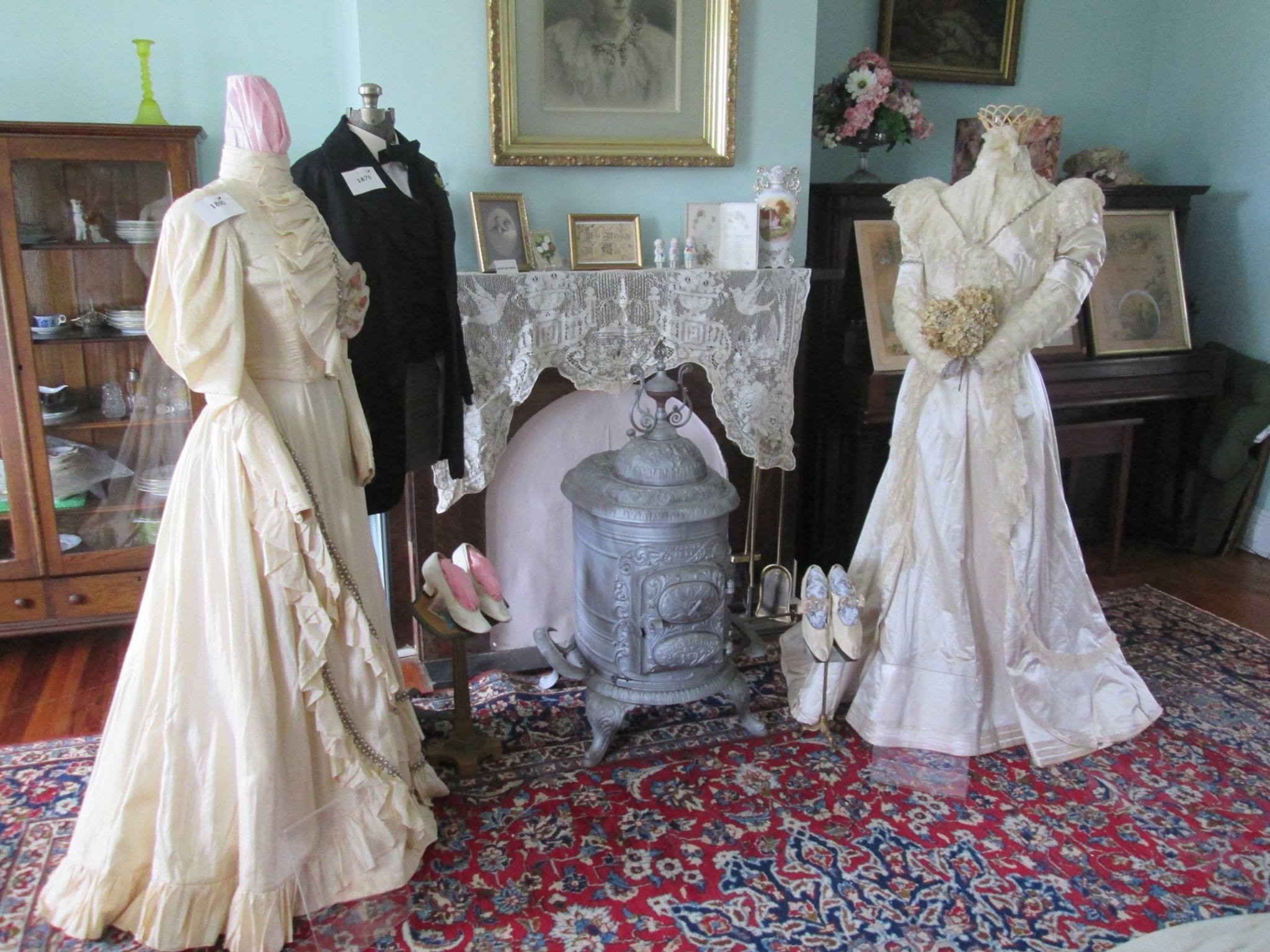 Special events:  Wedding dress display