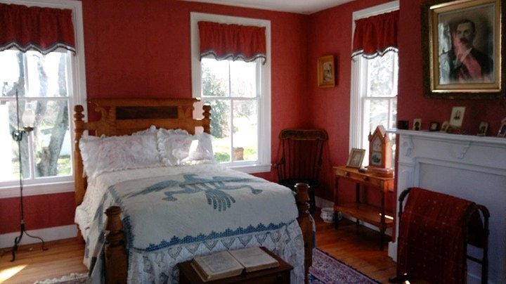 Senator Kirwan's bedroom.