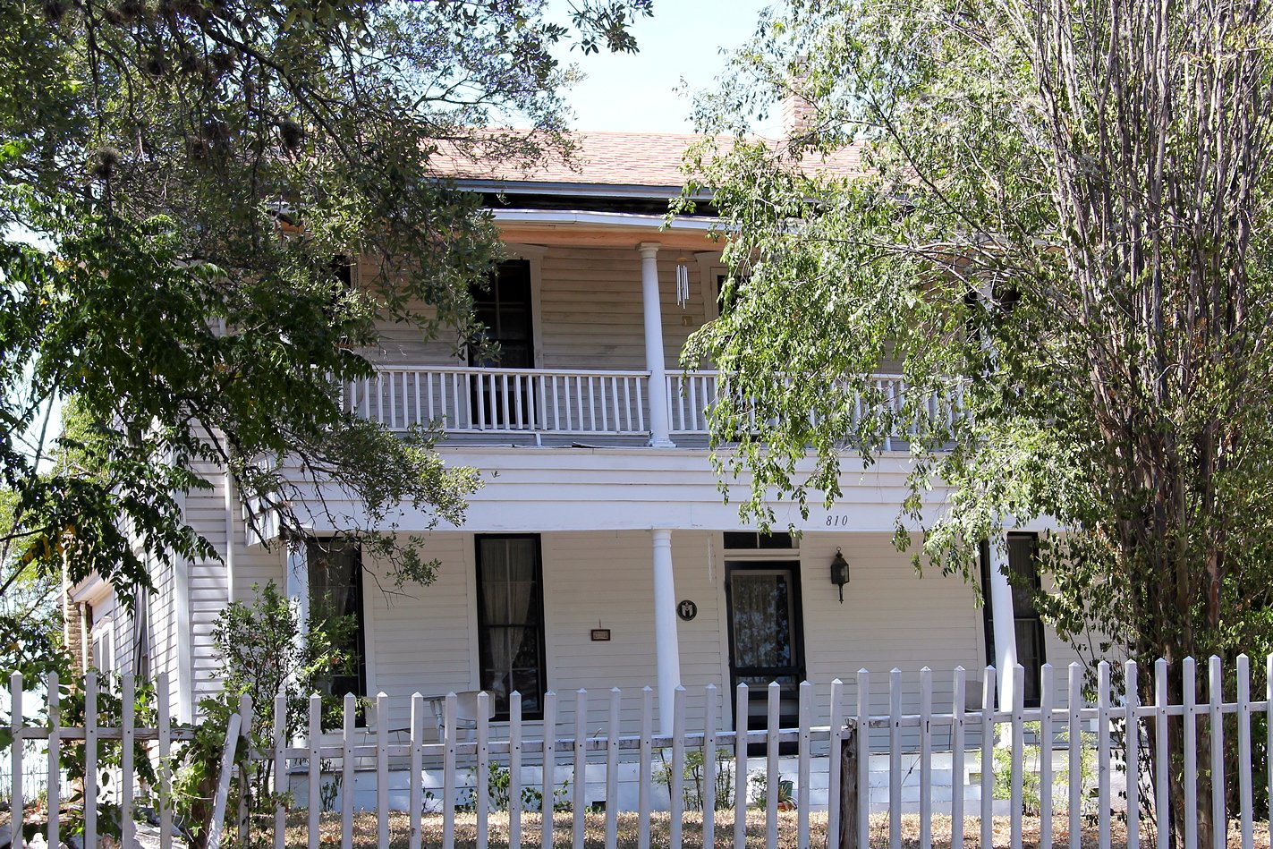 Limerick-Frazier House, built in 1876, Austin, Texas.