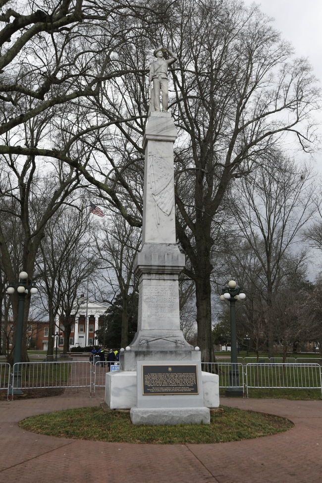 Confederate Monument at the University of Mississippi