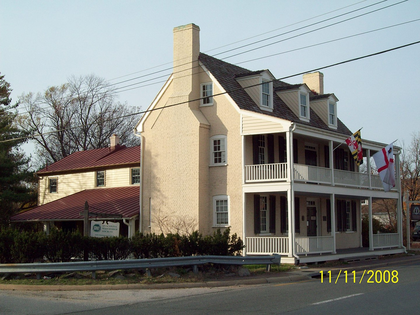 George Washington House (The Indian Queen Tavern)