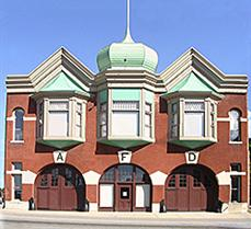 The museum has been located in the city's historic Central Fire Station since 1990.