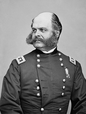 Union Commander, General Ambrose Burnside
